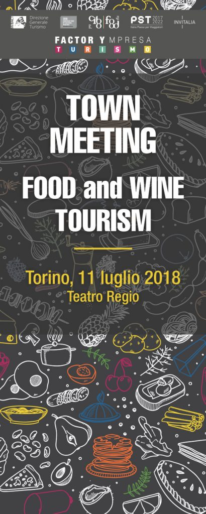 L'Agenda del Town Meeting FOOD and WINE TOURISM